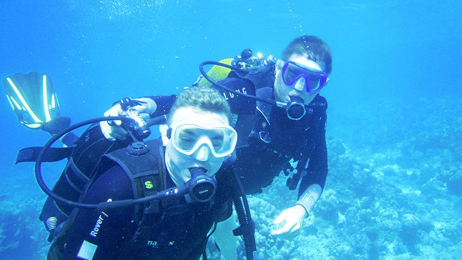 Cours de plongee 44